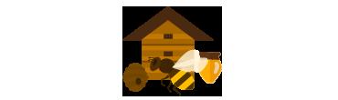 La grande famiglia delle api